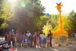 Life size GIRAFFE balloon