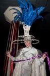 Blu Ribbon Dancer