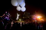 Aerial Balloon-Up in the air-