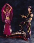 Aladdin & Genie Magic Carpet Ride...