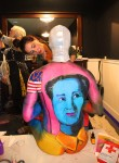 Andy Warhol body painting