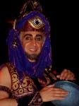 Arabian ringmaster / drummer