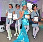 Stratosphere Retro Stewardess ensemble