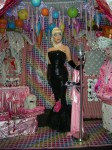 Award Winning -American Icon- Living Statue in our Sugared Kisses Candy Land Installation
