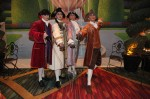 Baroque Palace Guards ensemble