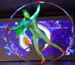 Big Green Man Cyr Wheel