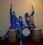 Blu Tailo drummers