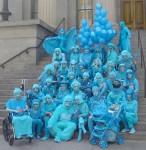 Blu ensemble