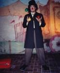 Comic juggler
