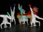 Chinese Lion dance ensemble