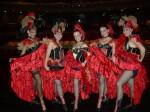 Moulin Rouge dance ensemble