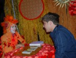 Orange Tarot Reader fortune telling
