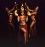 Fire dance ensemble