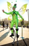 Green Butterfly Stilter