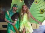 Green Indigenous Dancer & Green La Luna