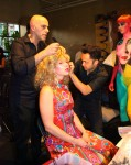Hair & Makeup Artists Transforming into the 1970s