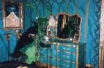 Green raspa in Green room