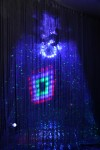 3D Blacklight Labyrinth Installation