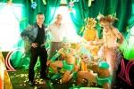 Green ensemble with Gregangelo & Emmanuel