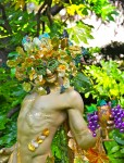 Gold Bacchus -Have some grapes-