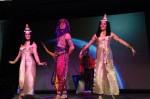Sword swallower & Egyptian dancers