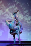 Male & Female double contortion act