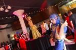 Blu Baton Twirl with Gold Dancer