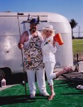 Ike & Iona Trailer show you down home hospitality as they invite you to their summertime Bar-B-Que