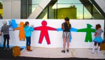 Interactive Children's Art Mural