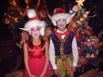 Christmas with little kids elves