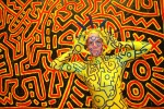 Keith Haring characters comes to life