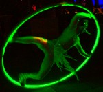 Illuminated Cyr wheel
