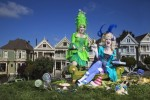 Ladies V and Antoinette -Alamo Square, San Francisco-