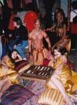 Luxury Hookah Bar and Backgammon attendants