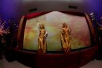 Gold dancers