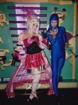 Madame Wiseau & blu orb