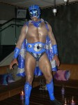 Mexican Wrestler Action Figure