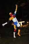 Mondrian inspired body painting