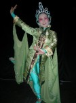 Mongolian habd dancer