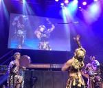 Sword Dancer and Drummers