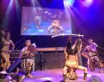 Drummer Ensemble with Sword Dancer