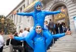 Blu Dreamers at San Francisco City Hall