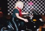 Sandy Stunt Biker Chick