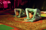 Youth double contortion
