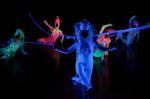 Blacklight dance