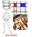 Mondrian inspiration