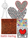 Keith Haring inspiration