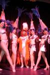 Ms.GG bridges showgirls ensemble
