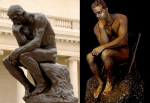 Rodin's Thinker Comes to Life