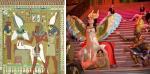 Egyptian Gods Osiris & Isis Come to Life